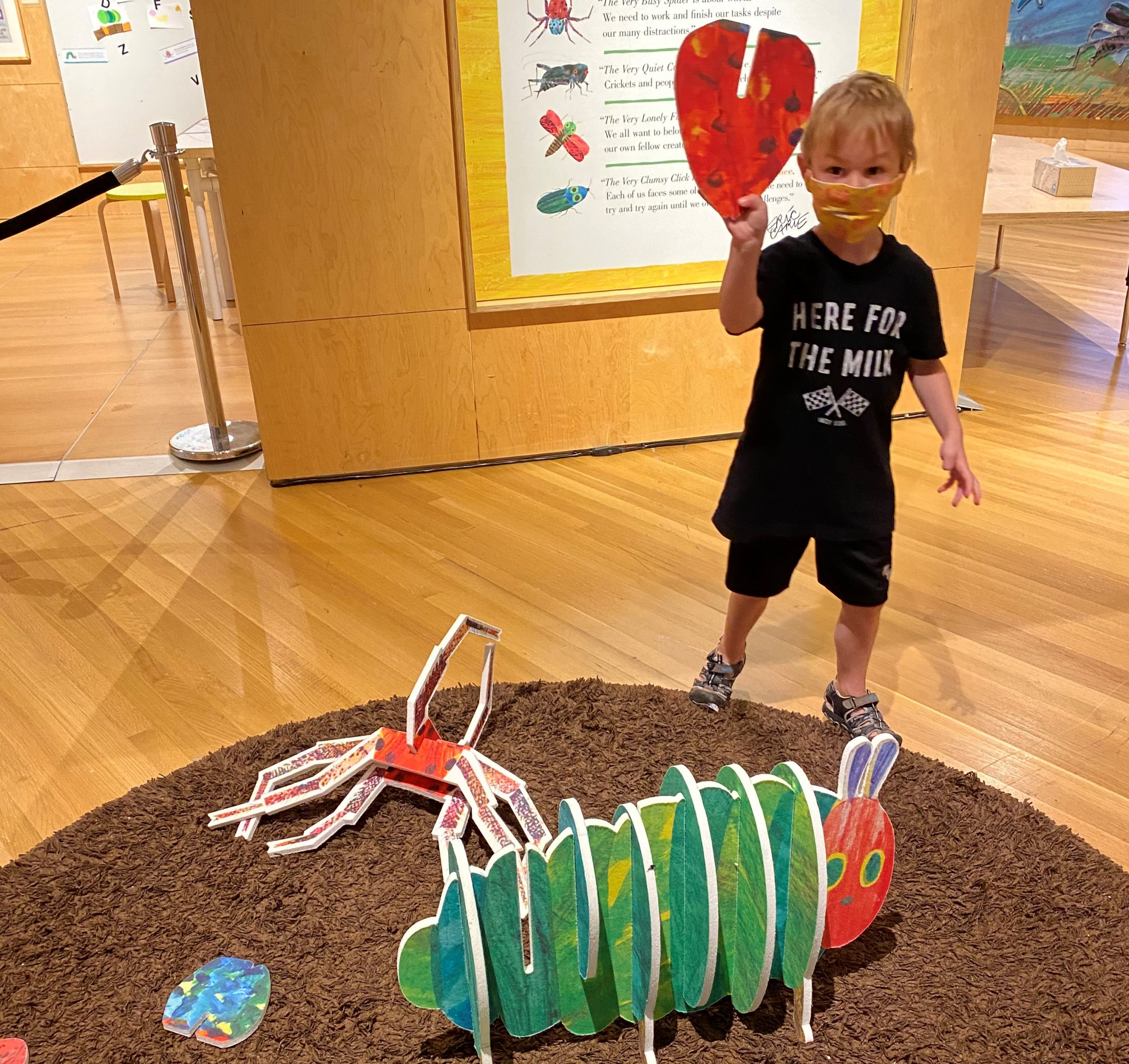 Very Eric Carle Exhibit Opens at Indiana State Museum